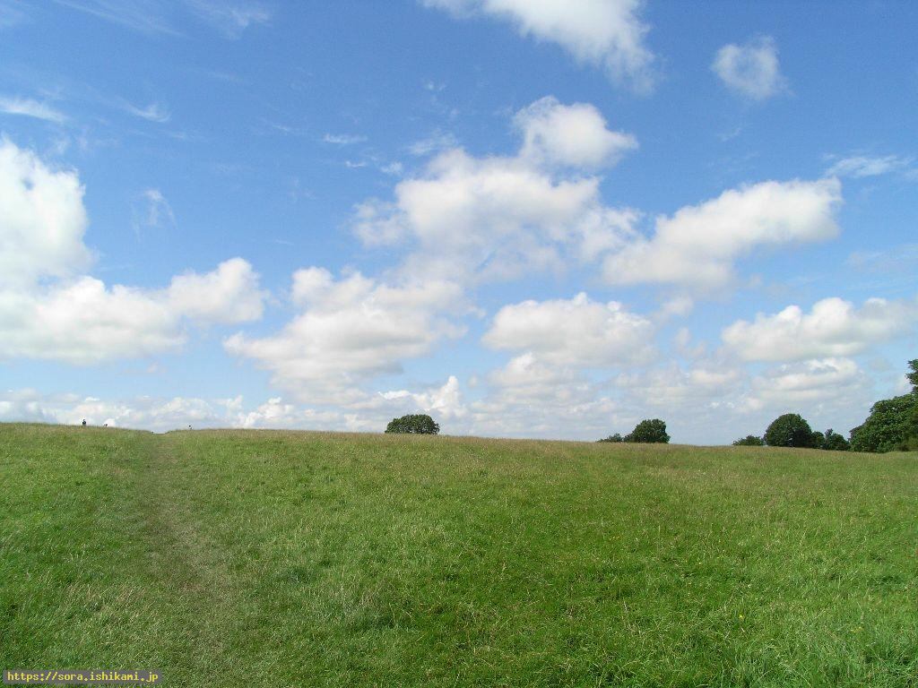 タラの丘 タラの丘 タラの丘は広い丘です。 気温は低目でも精一杯の夏 ダブリンの南西10㎞位のネ